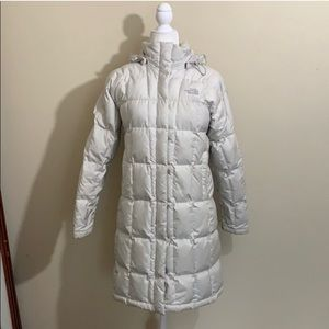 North Face Metropolis 600 Down Fill Ivory Parka